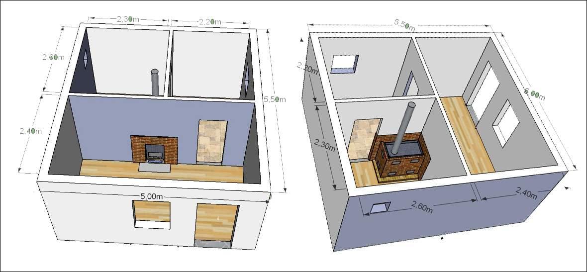 Как построить двухэтажную баню своими руками видео